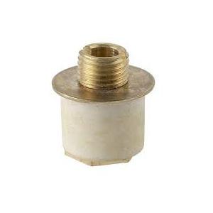 1 talon extensible pour goulot 22 à 24 mm en laiton et caoutchouc douille
